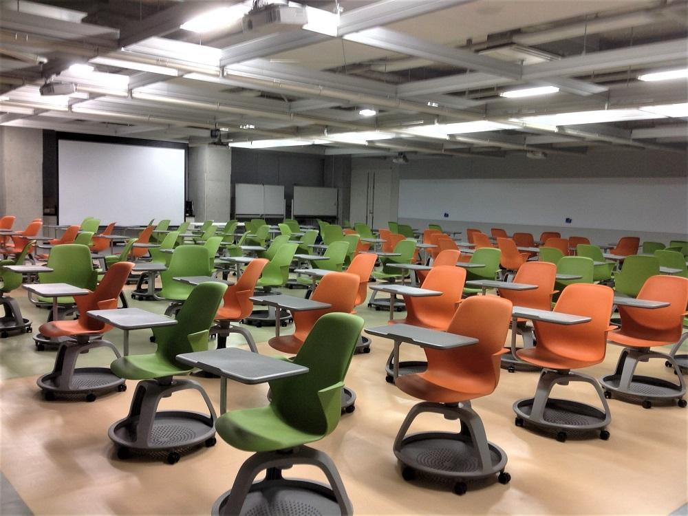 学生の主体的な学びを促進する空間