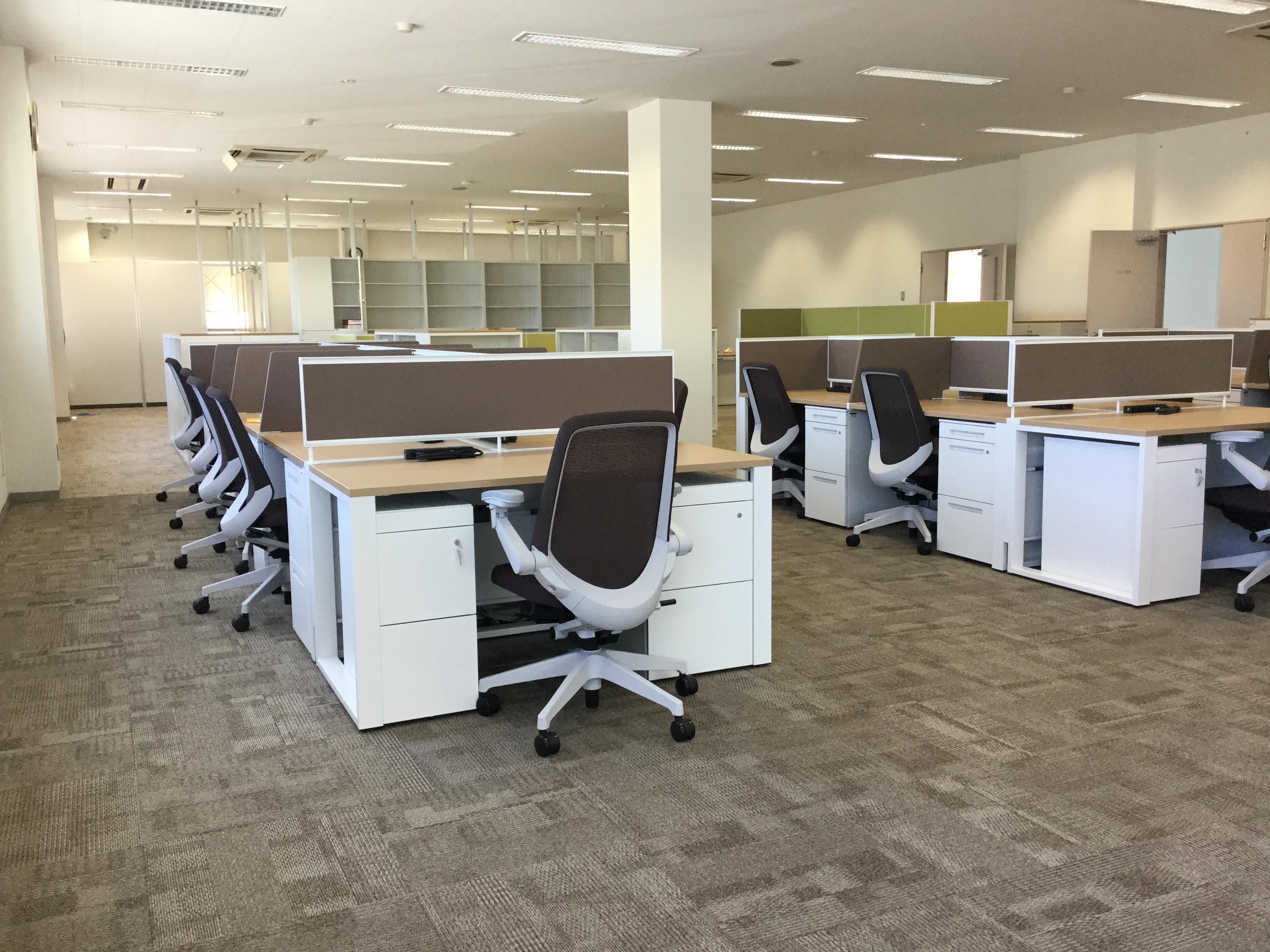 業務効率も居心地も良い快適なオフィスへの転換